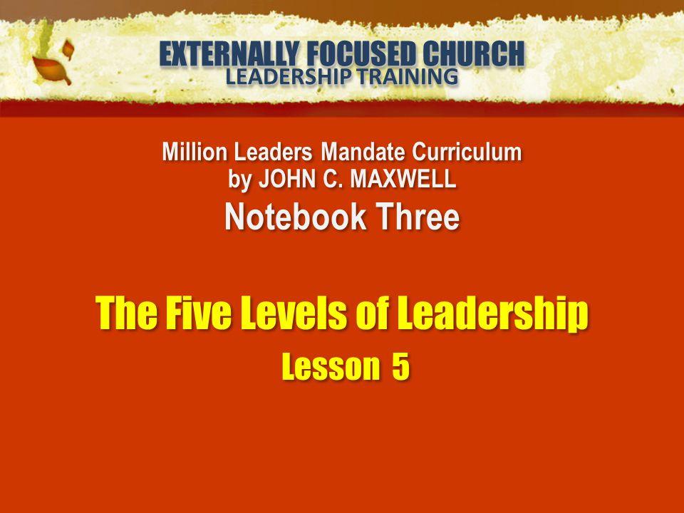 Million Leaders Mandate Curriculum