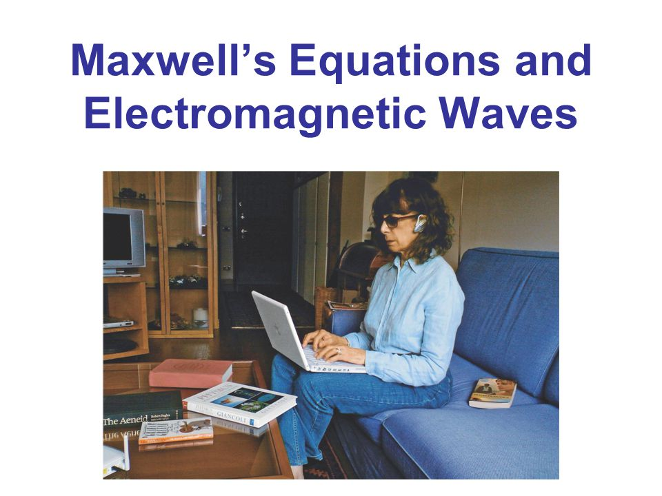 Maxwell's Equations and Electromagnetic Waves