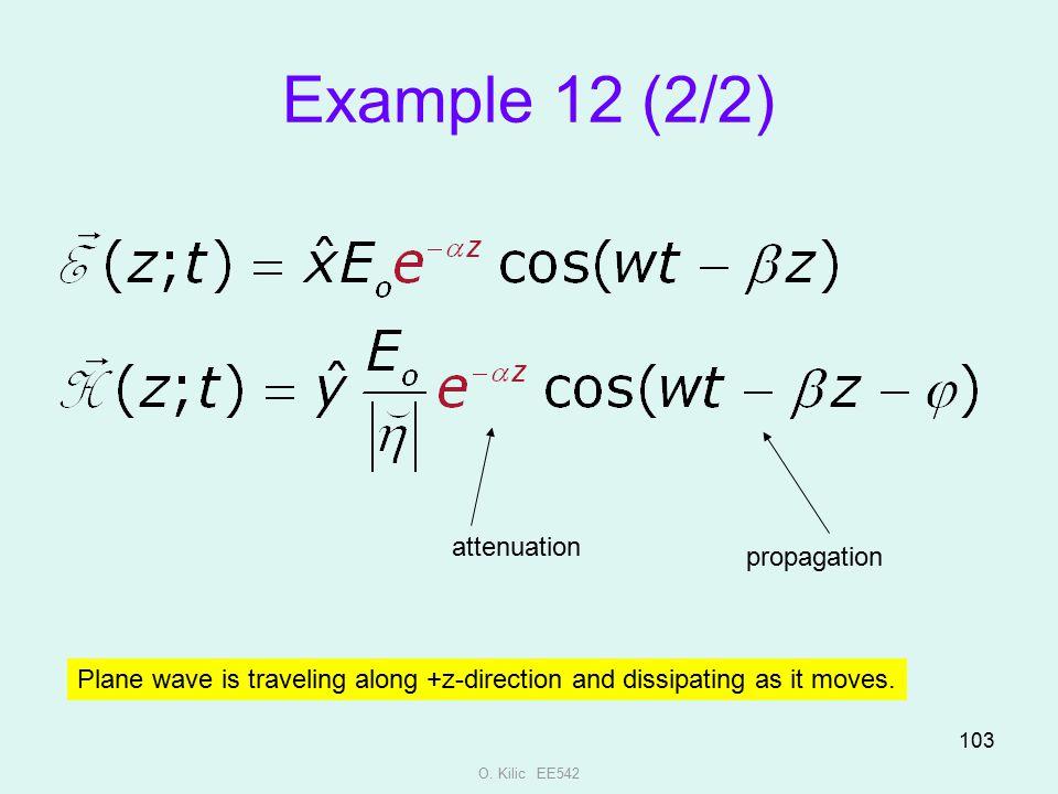 Example 12 (2/2) attenuation propagation