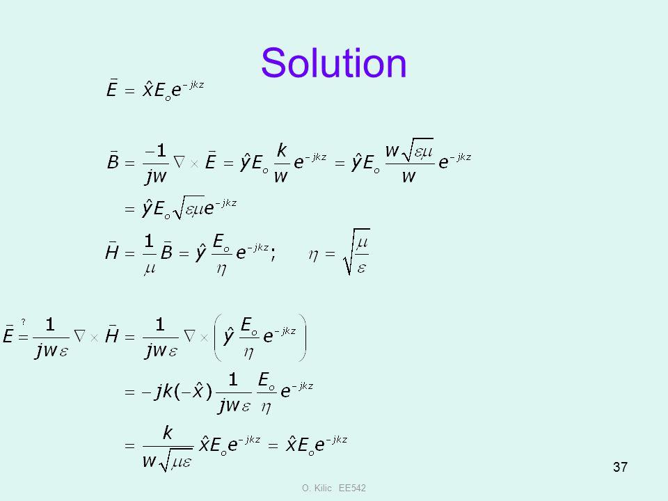 Solution O. Kilic EE542