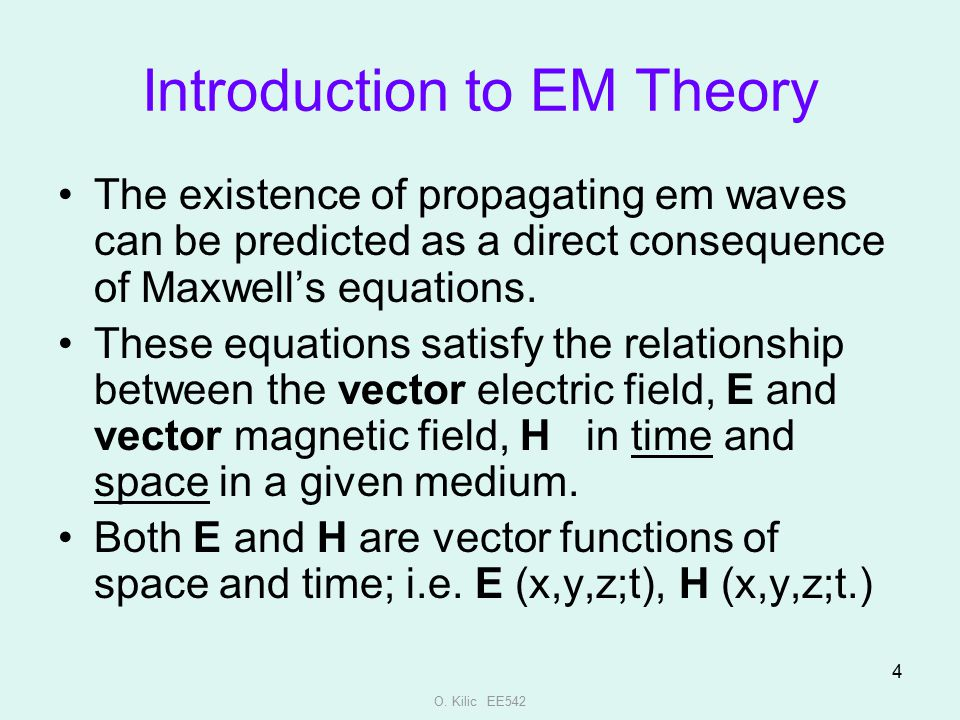 Introduction to EM Theory