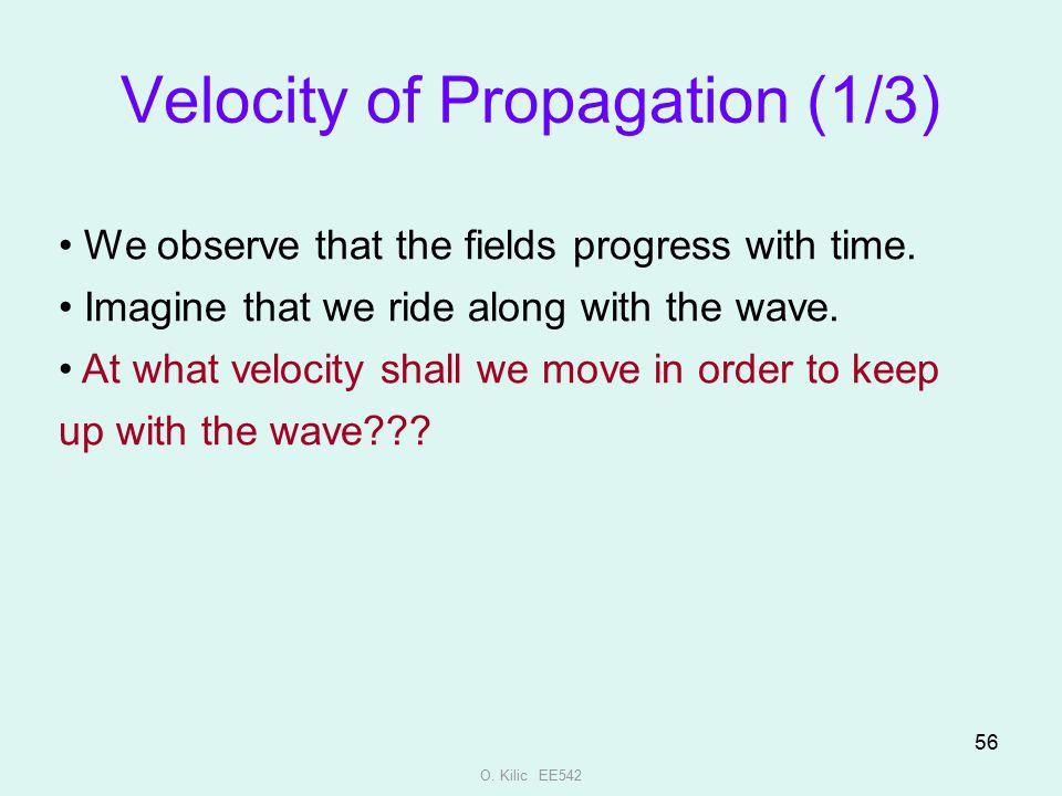 Velocity of Propagation (1/3)