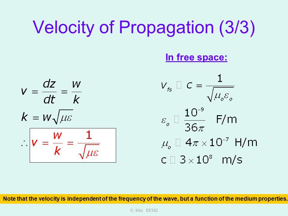 Velocity of Propagation (3/3)