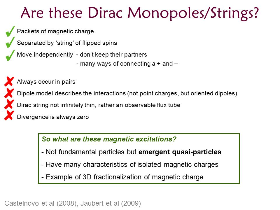 Are these Dirac Monopoles/Strings