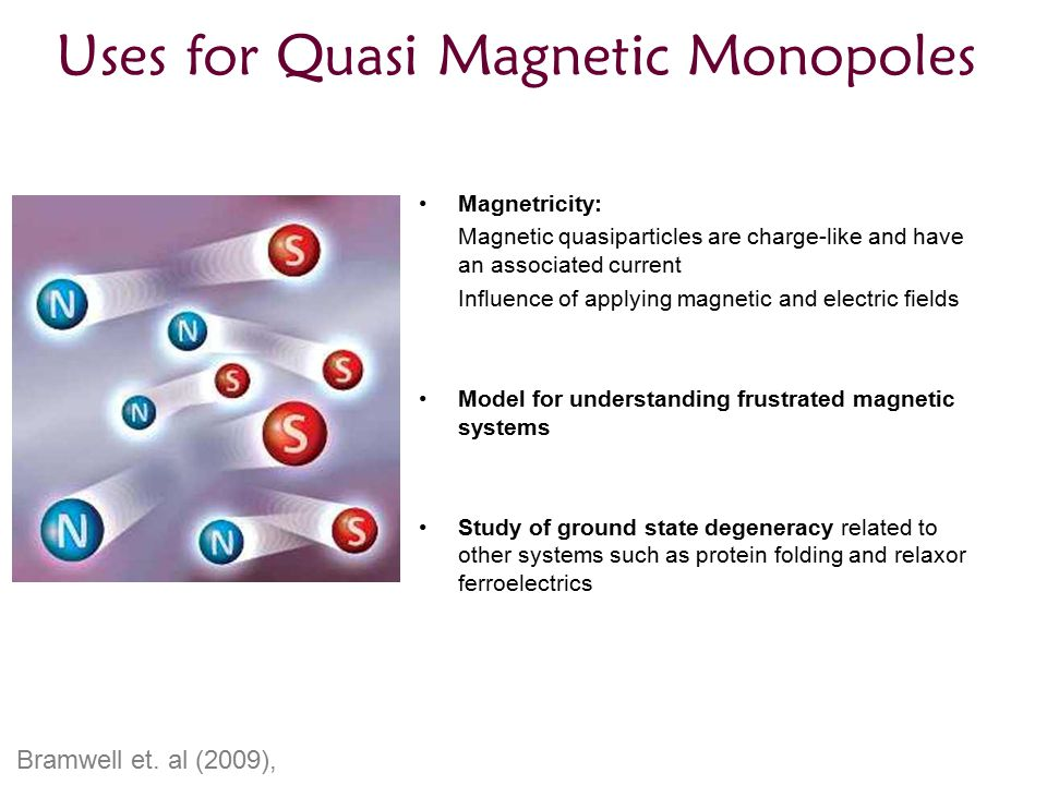 Uses for Quasi Magnetic Monopoles