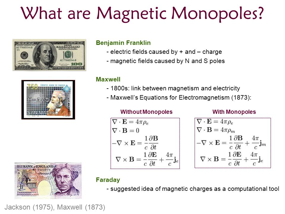What are Magnetic Monopoles