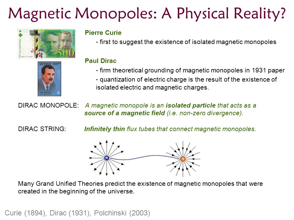 Magnetic Monopoles: A Physical Reality