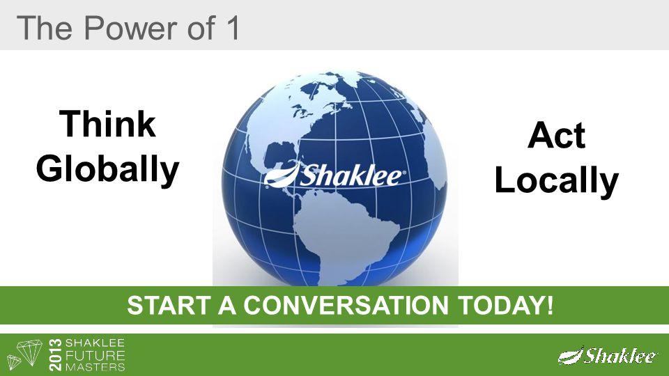 START A CONVERSATION TODAY!