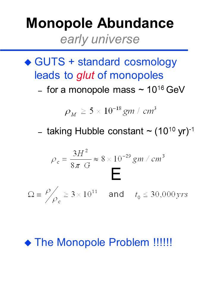 Monopole Abundance early universe