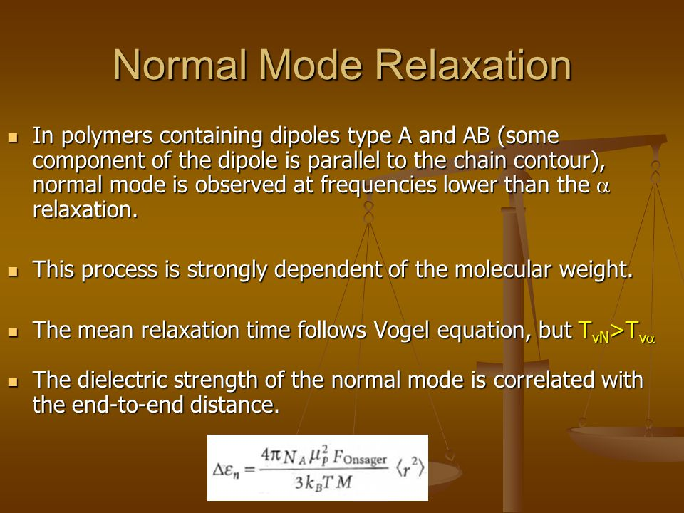Normal Mode Relaxation