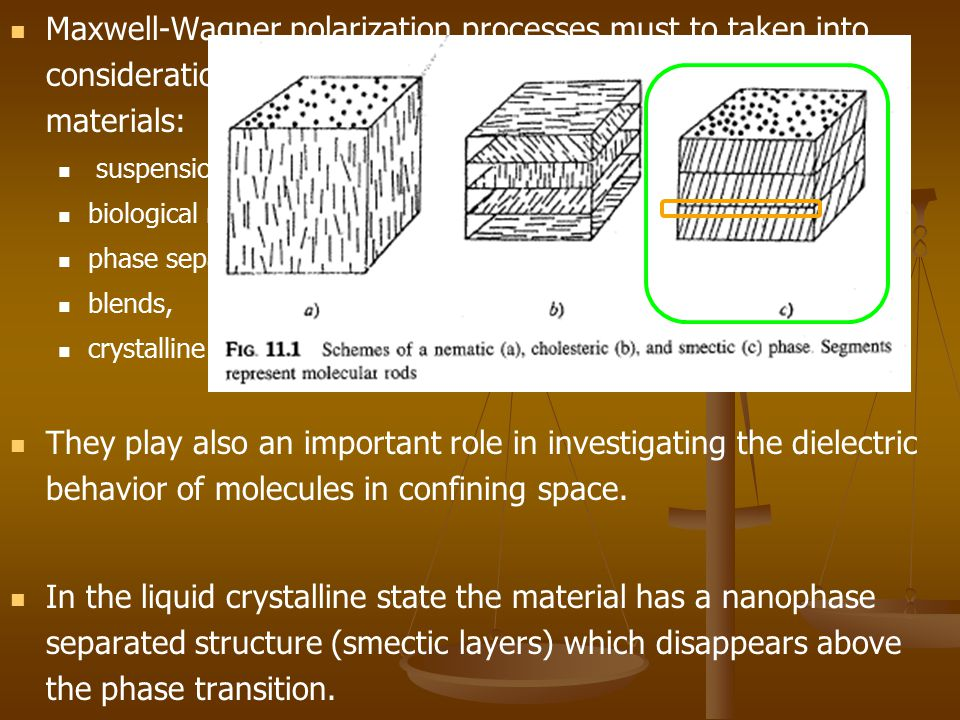 Maxwell-Wagner polarization processes must to taken into consideration during the investigation of inhomogeneous materials: