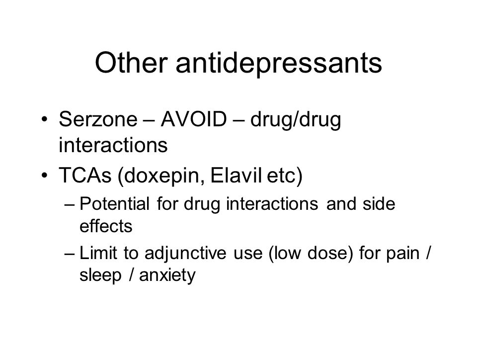 Other antidepressants