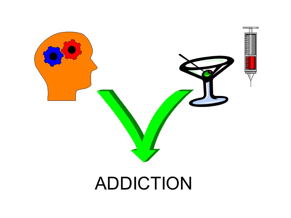 Most people believe that addiction is caused by using drugs
