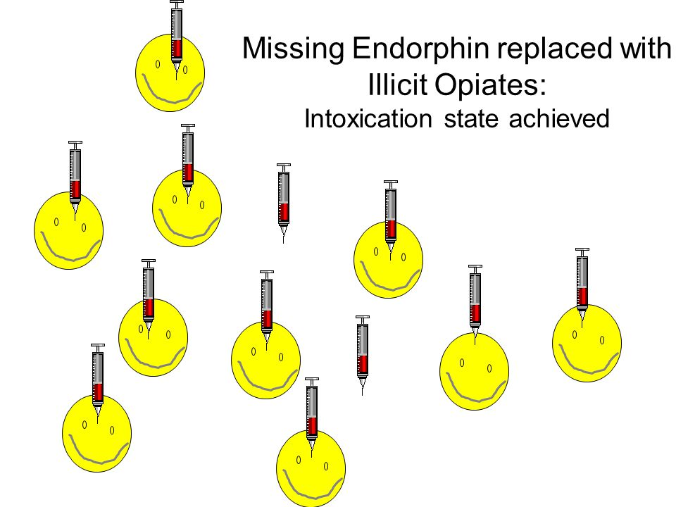 Missing Endorphin replaced with Illicit Opiates: