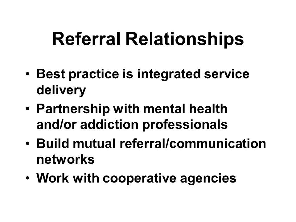 Referral Relationships