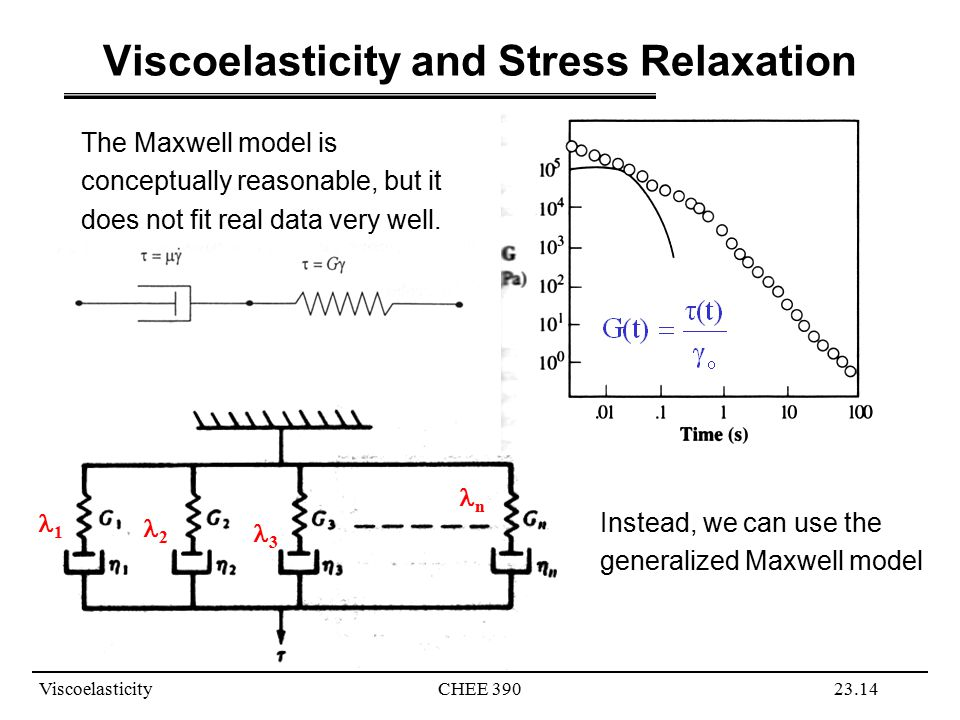 Viscoelasticity and Stress Relaxation