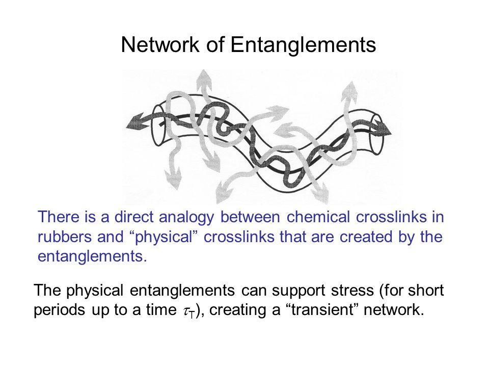 Network of Entanglements