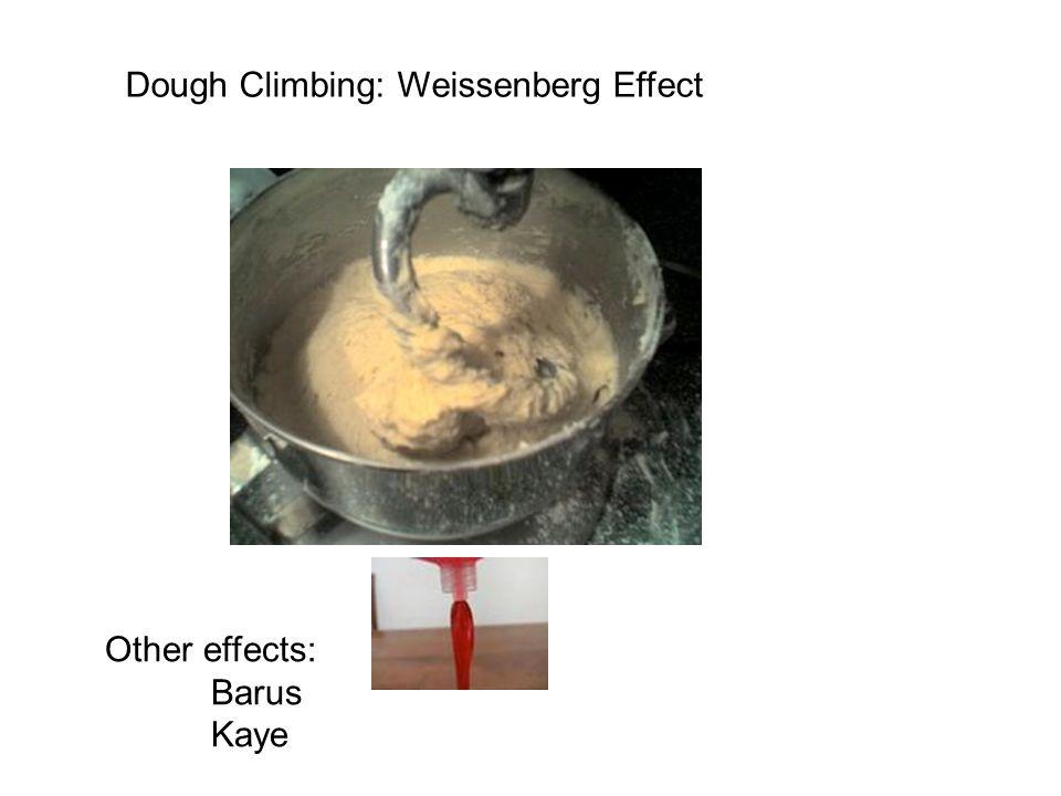 Dough Climbing: Weissenberg Effect