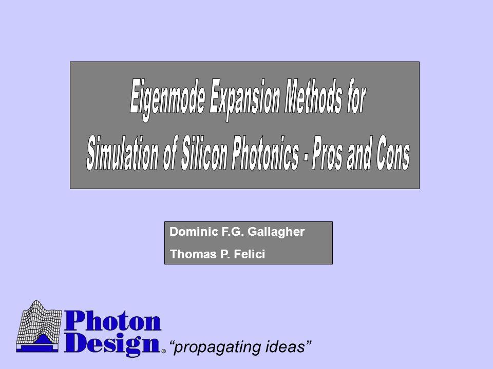 Eigenmode Expansion Methods for