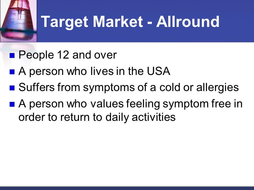Target Market - Allround