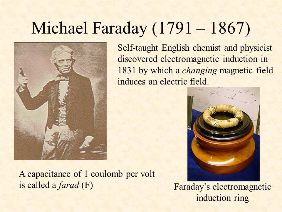 Faraday's electromagnetic