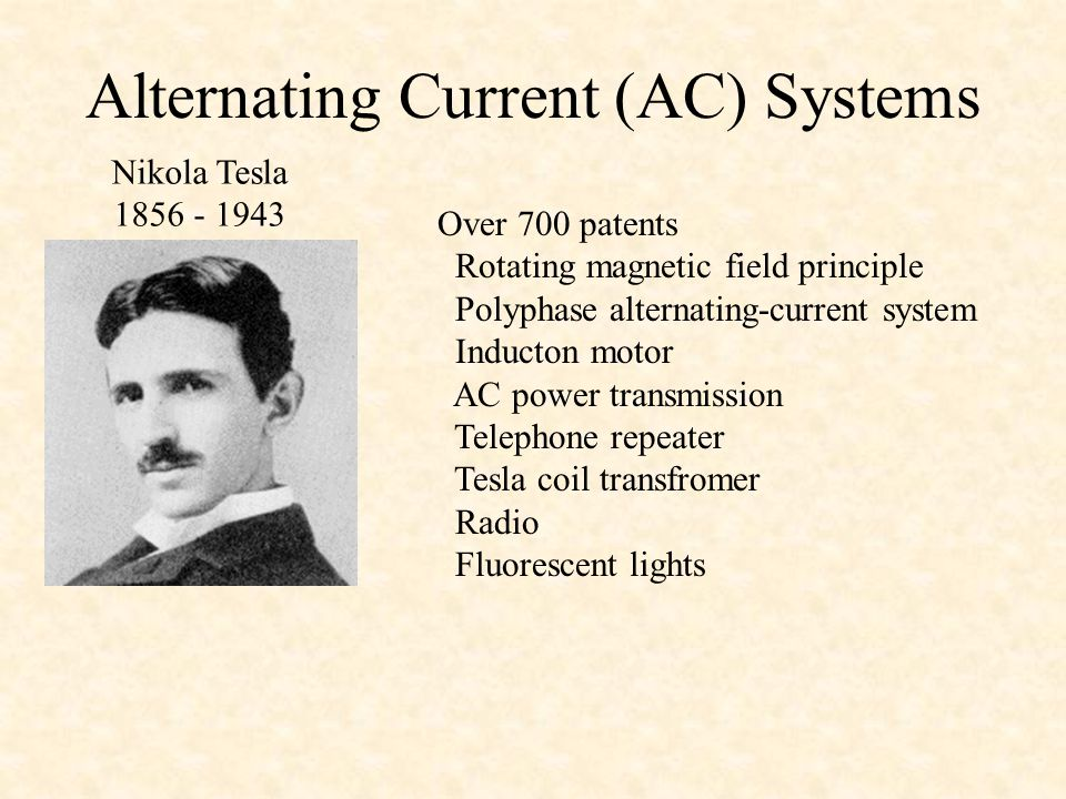 Alternating Current (AC) Systems
