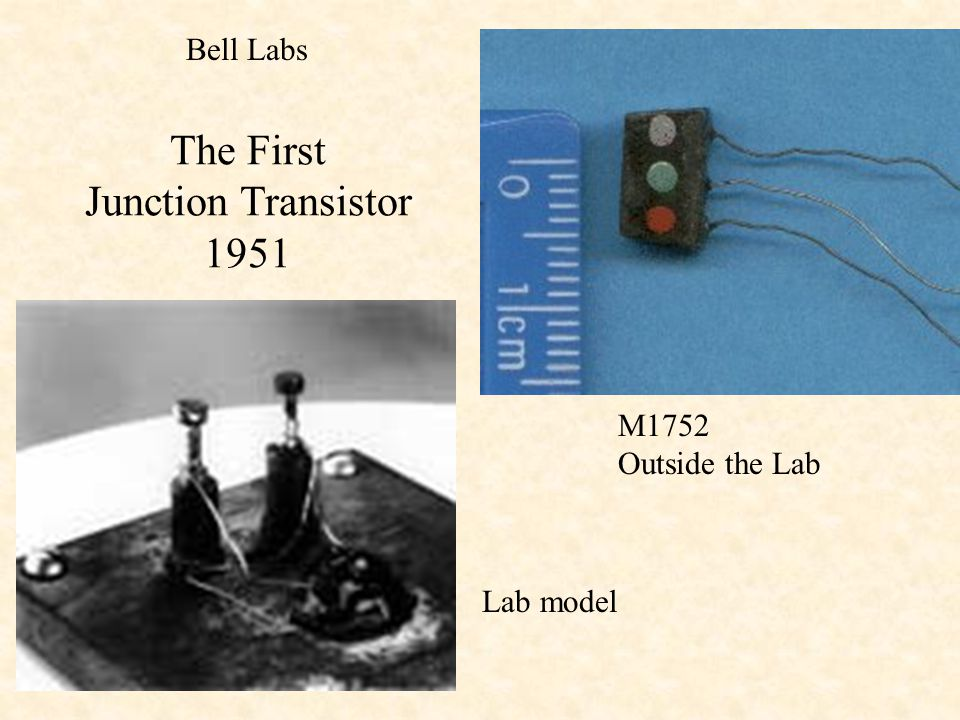 The First Junction Transistor 1951