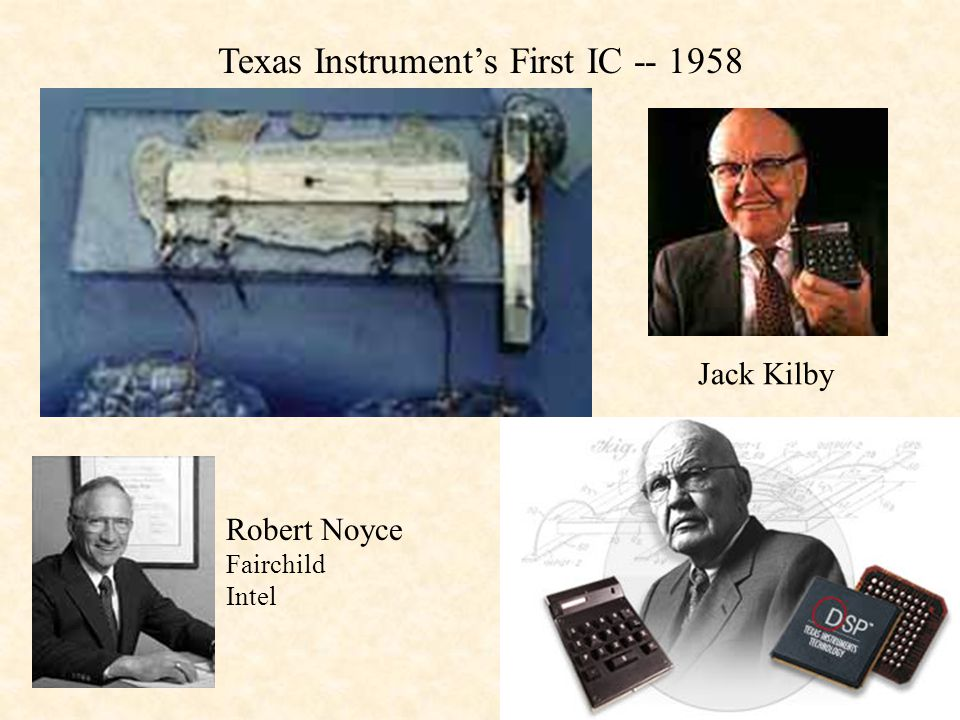 Texas Instrument's First IC -- 1958