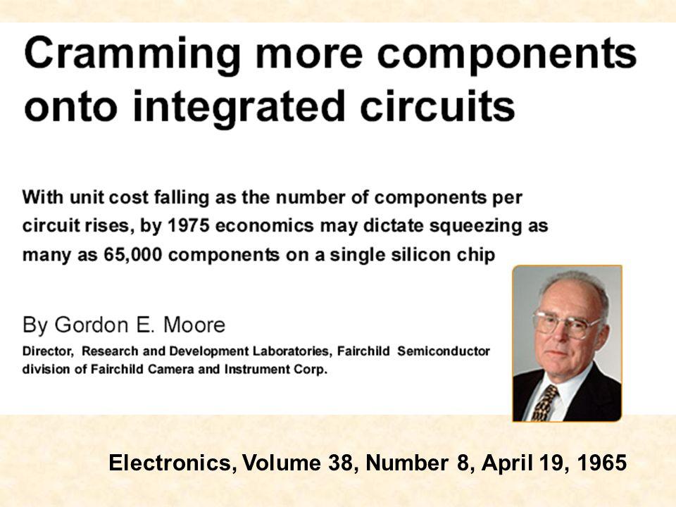 Electronics, Volume 38, Number 8, April 19, 1965