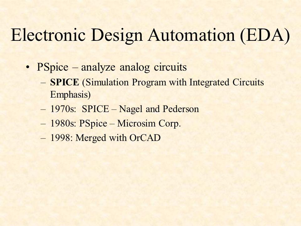 Electronic Design Automation (EDA)