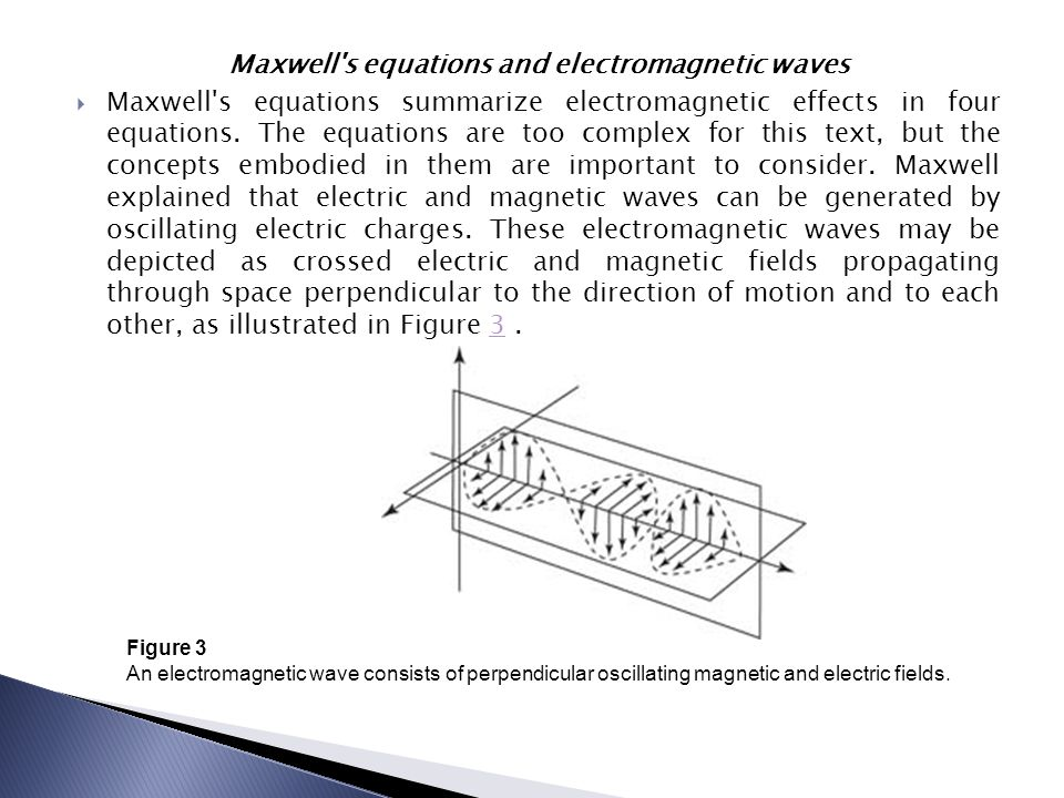 Maxwell s equations and electromagnetic waves
