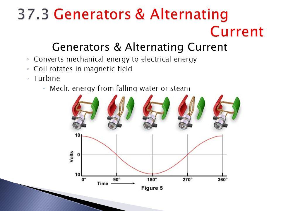 37.3 Generators & Alternating Current