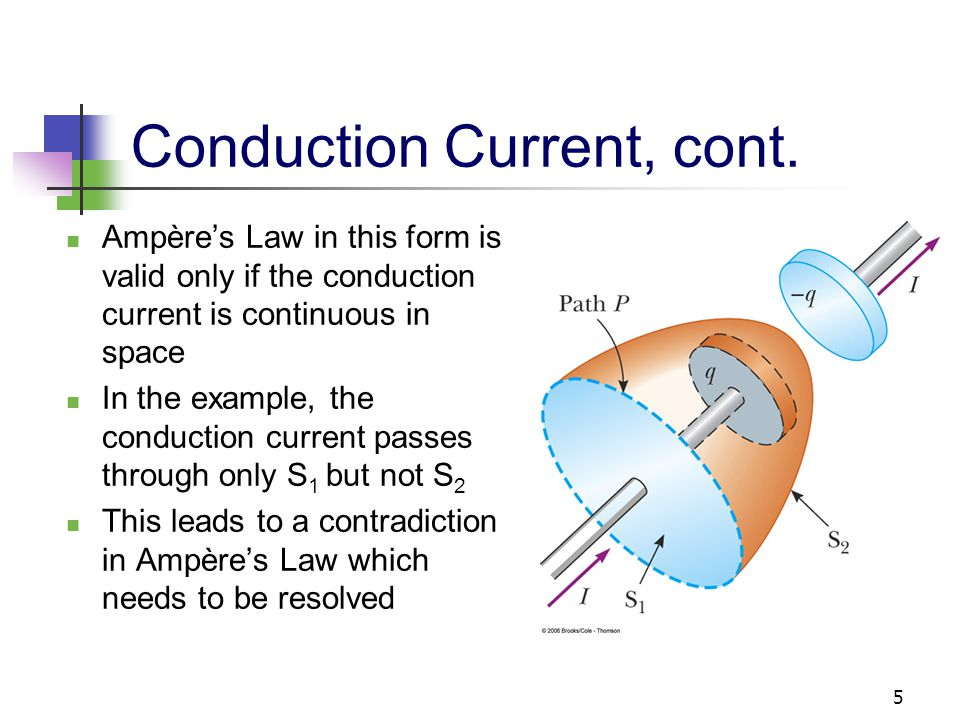 Conduction Current, cont.