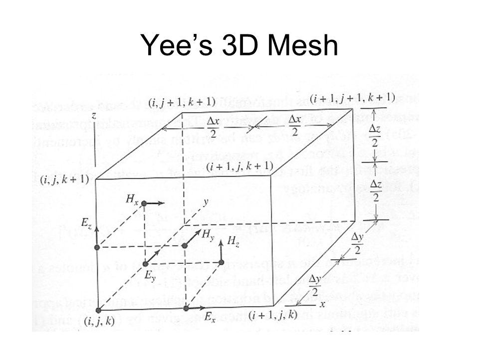 Yee's 3D Mesh