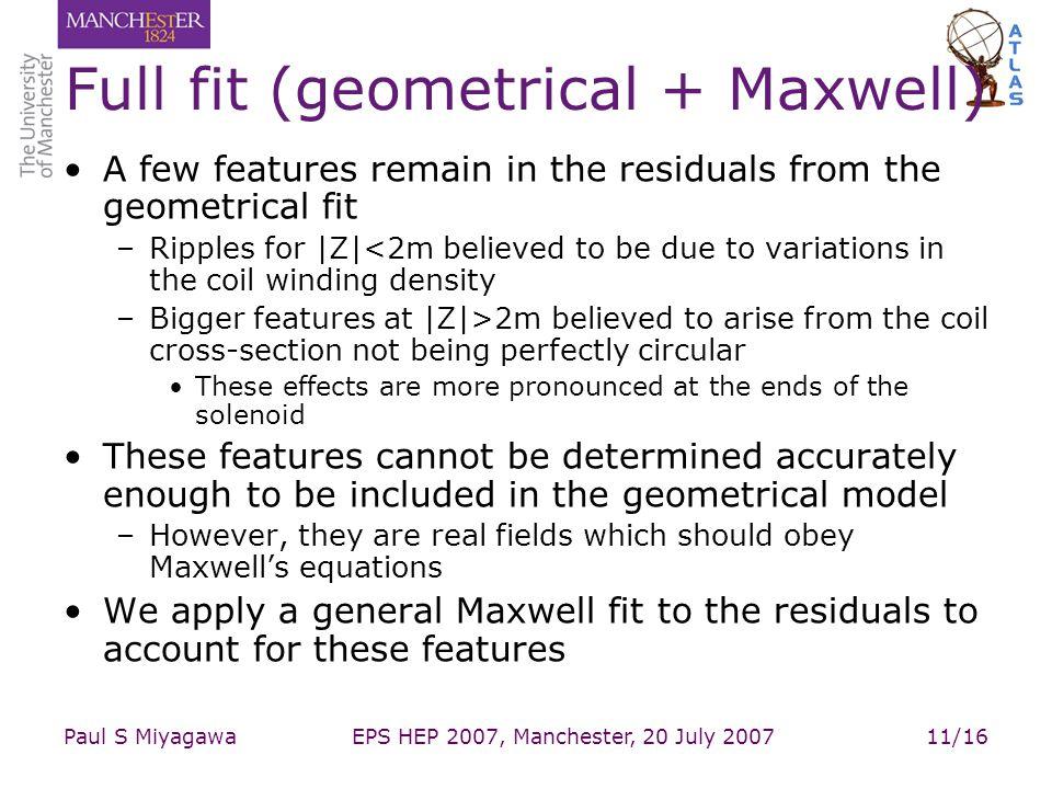 Full fit (geometrical + Maxwell)