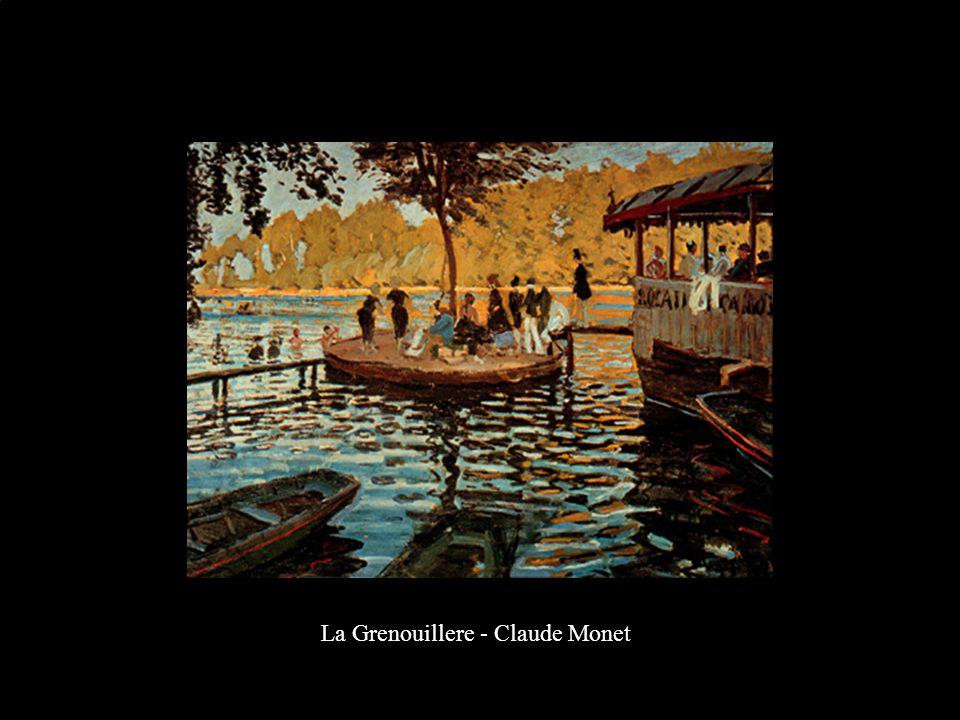 La Grenouillere - Claude Monet