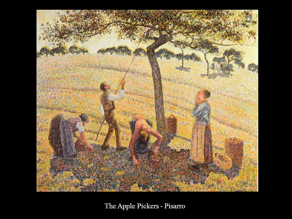 The Apple Pickers - Pisarro