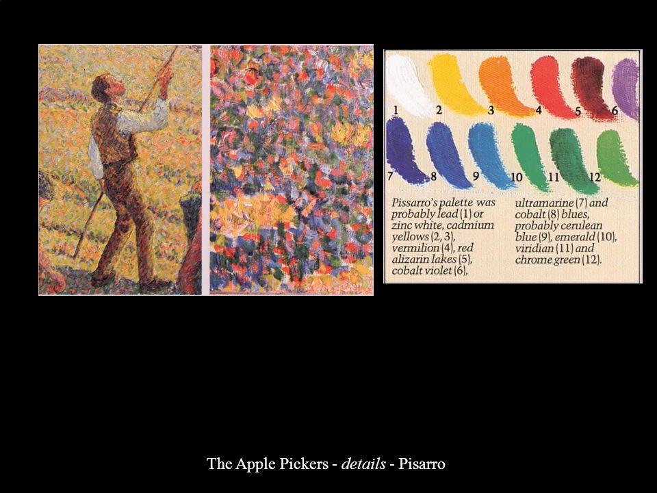 The Apple Pickers - details - Pisarro