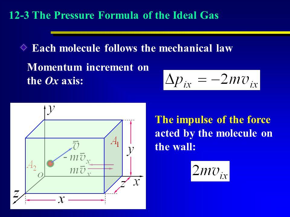 Each molecule follows the mechanical law