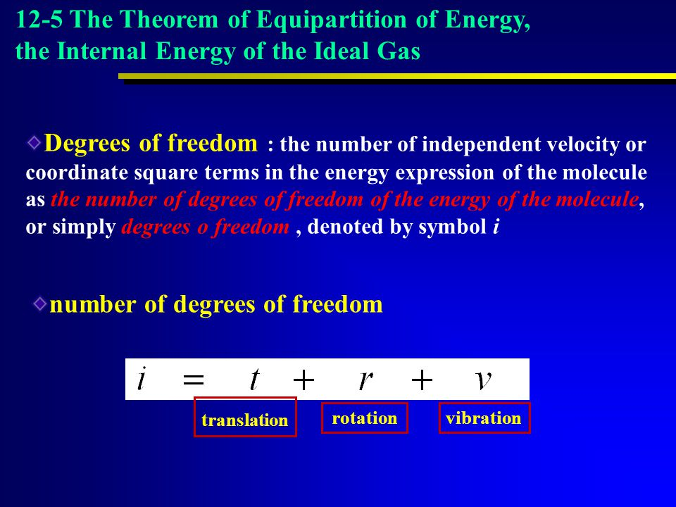 number of degrees of freedom