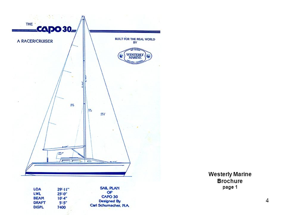 Westerly Marine Brochure page 1