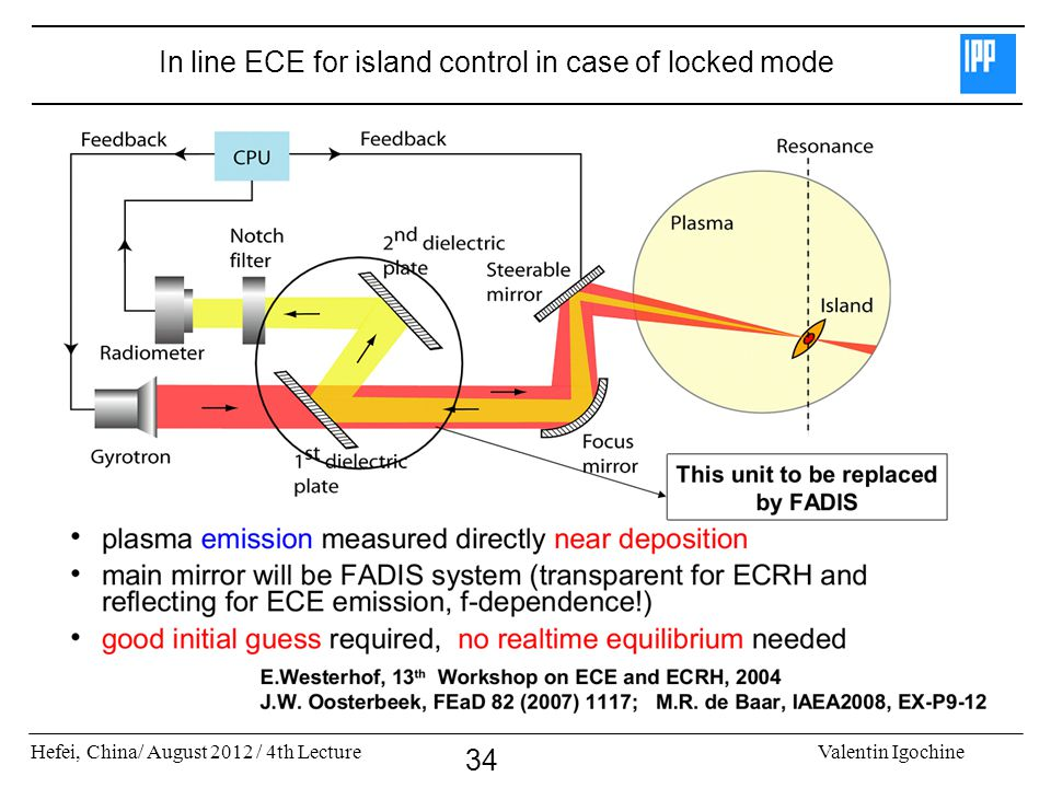 In line ECE for island control in case of locked mode
