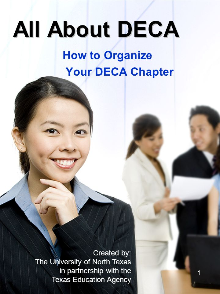 How to Organize Your DECA Chapter