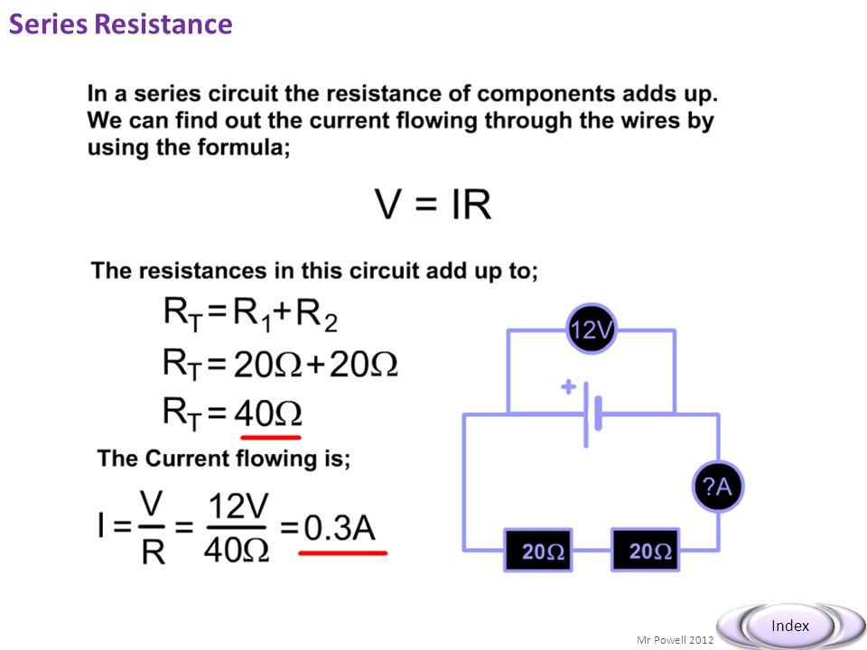 Series Resistance