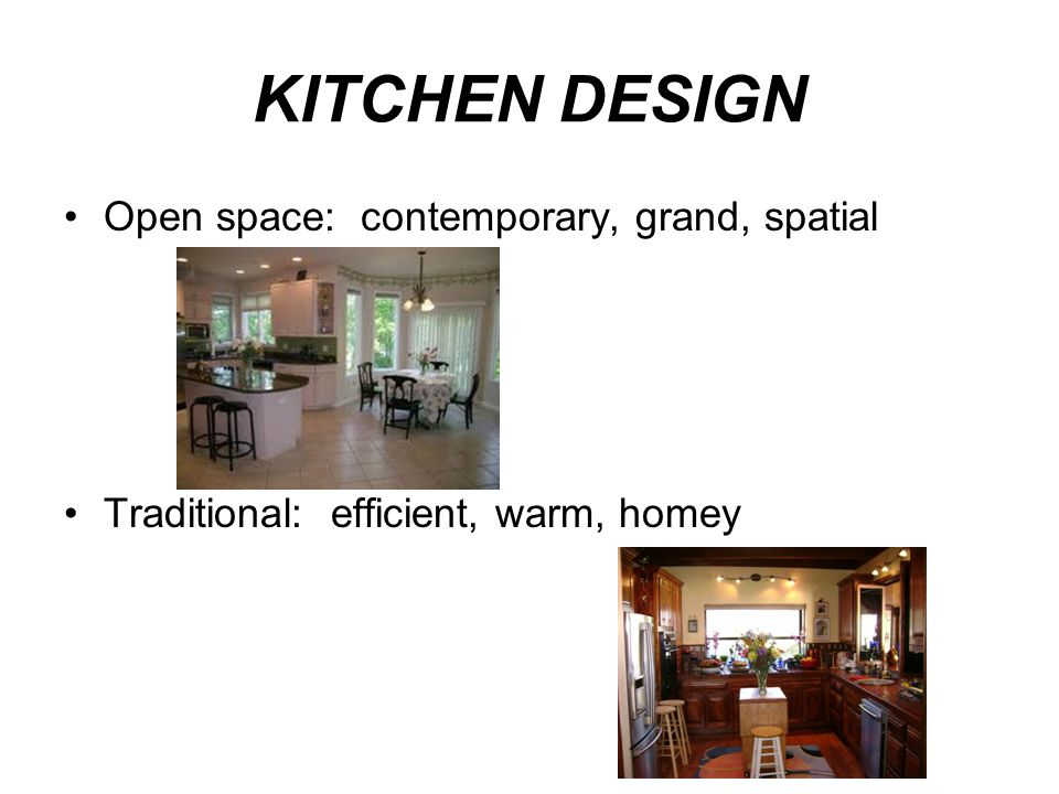 KITCHEN DESIGN Open space: contemporary, grand, spatial