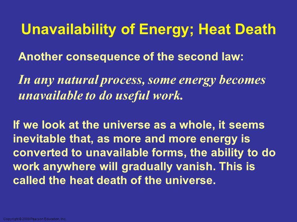 Unavailability of Energy; Heat Death