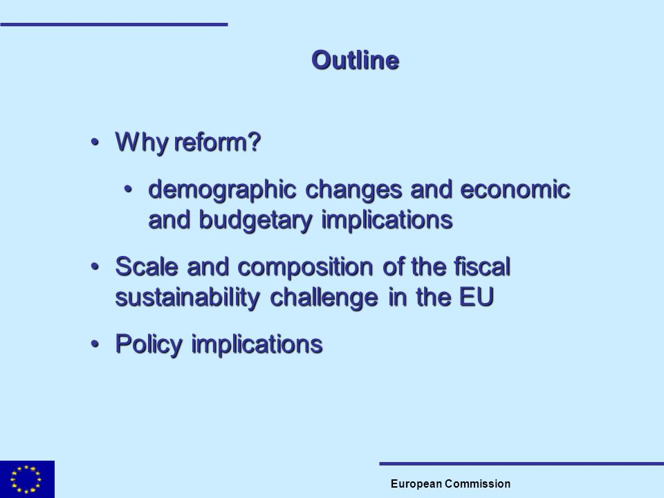 demographic changes and economic and budgetary implications