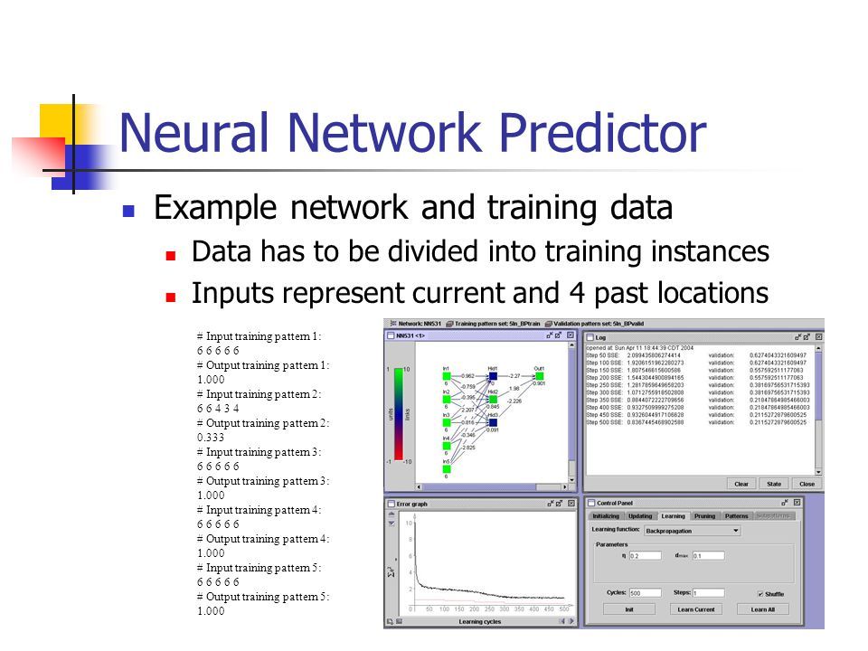 Neural Network Predictor