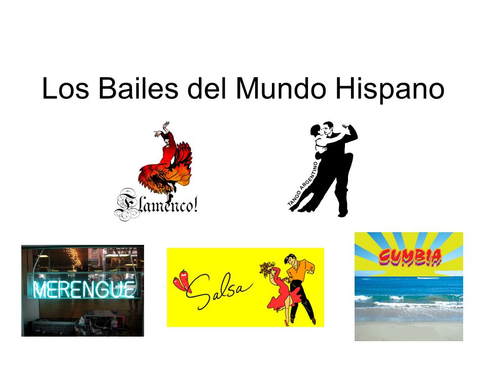 Los Bailes del Mundo Hispano