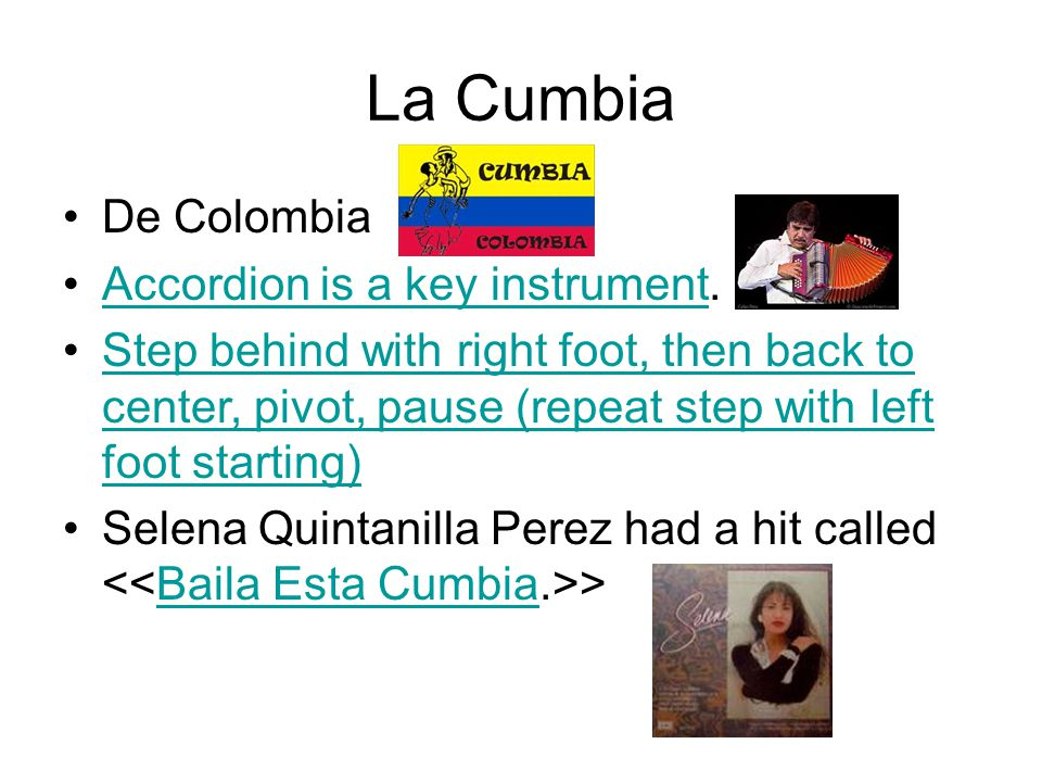La Cumbia De Colombia Accordion is a key instrument.